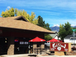 Kickstand Kafe patio
